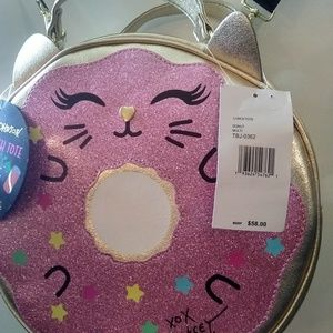 Betsey Johnson Bags - Betsey Johnson Donut Cat Insulated Lunch Tote